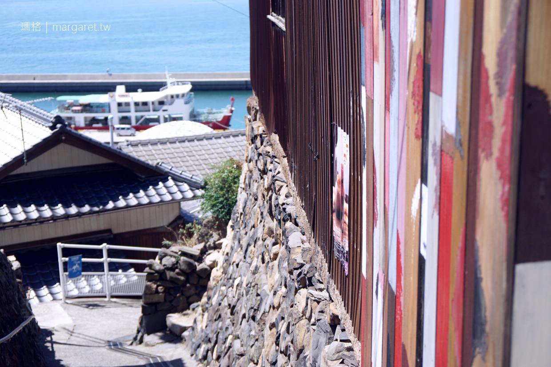 男木島wallalley壁畫|錯落於小島坡地、村落巷弄的彩繪 @瑪格。圖寫生活