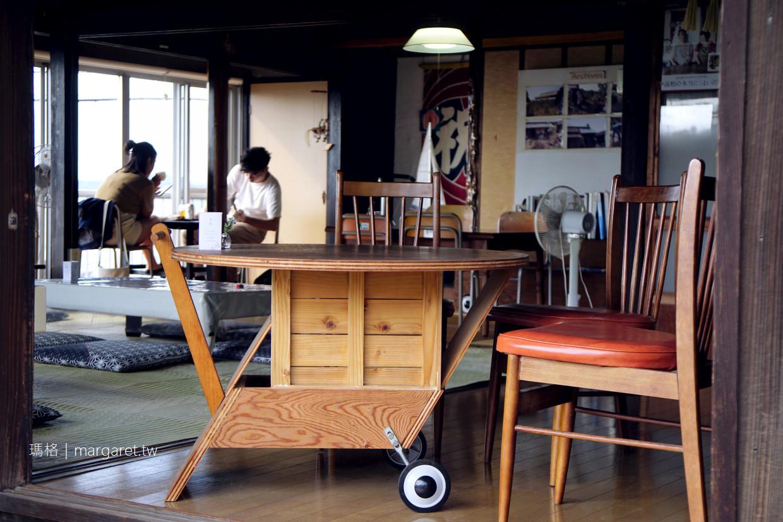ONBA Cafe男木島海景咖啡|ONBA  FACTORY把居民手推車變成藝術品。瀨戶內國際藝術祭限定 @瑪格。圖寫生活