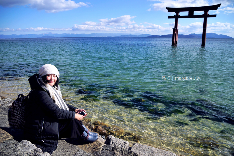白鬚神社。琵琶湖水中鳥居|近江之嚴島。滋賀人氣景點交通建議