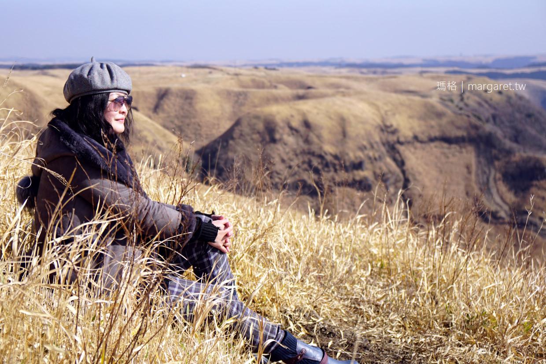 熊本絕景。阿蘇大觀峰|遼闊草原拍個人寫真、落日美景|九州自駕 @瑪格。圖寫生活