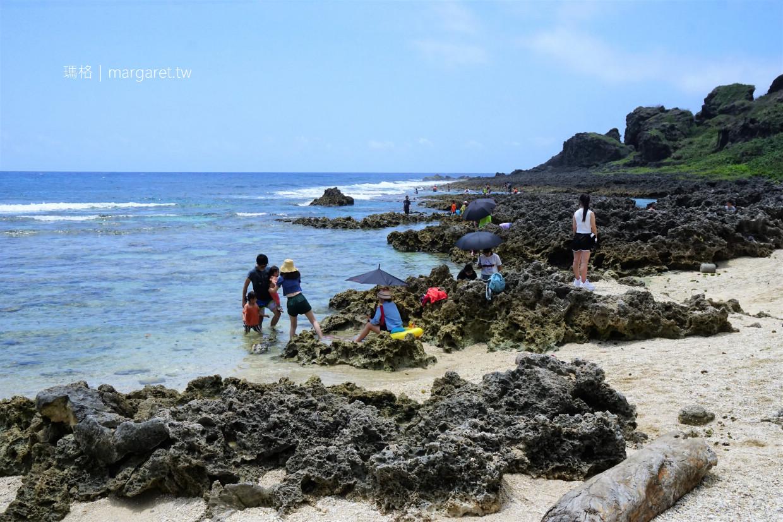 墾丁小巴里島。後壁湖浮潛勝地|世界級壯麗灘岩地形 @瑪格。圖寫生活