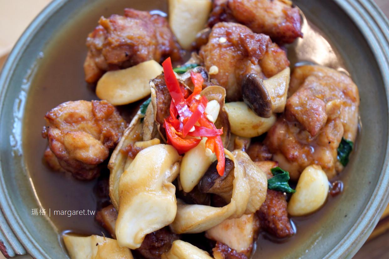 萌木之村。台中森林系餐廳|咖啡甜點。現做套餐料理