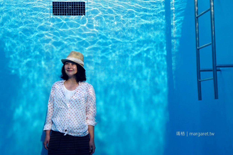 金澤21世紀美術館。世界最有名的泳池|威尼斯建築雙年展金獅獎