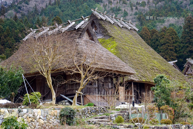 日本三大茅草屋聚落有何不同?白川鄉合掌村、京都美山町、福島大內宿|茅葺屋景點蒐羅 @瑪格。圖寫生活