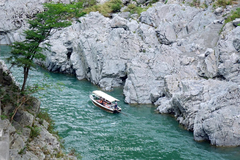 大步危小步危。溪谷遊覽船|日本三大暴川。秘境100選 @瑪格。圖寫生活