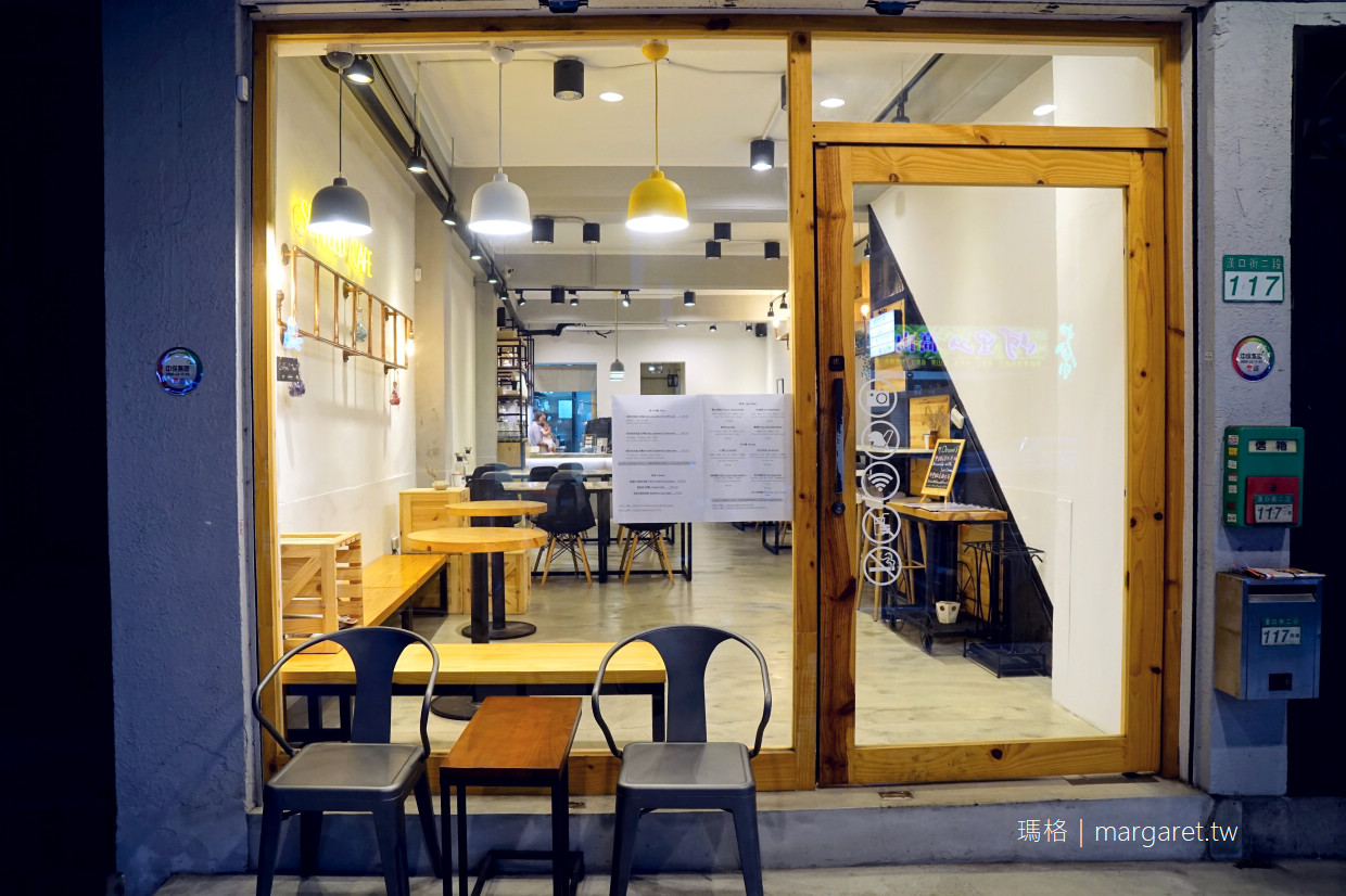 Settled Cafe。香港人在西門町開的咖啡館|採用Cupping Room Coffee Roasters冠軍咖啡烘豆