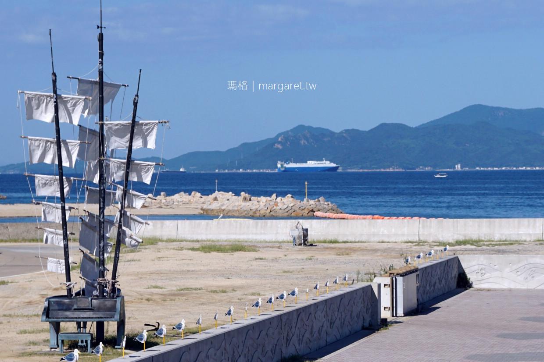 女木島海上映像。桃太郎傳說之島|2019瀨戶內國際藝術祭 @瑪格。圖寫生活