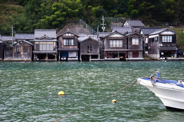 伊根舟屋。與船塢共構的海上家屋奇景|日本最美村莊伊根町。重要傳統建物保存區 @瑪格。圖寫生活
