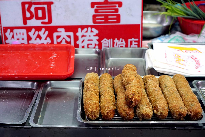 阿富網絲肉捲。古早味|嘉義東市場隱藏版便當店