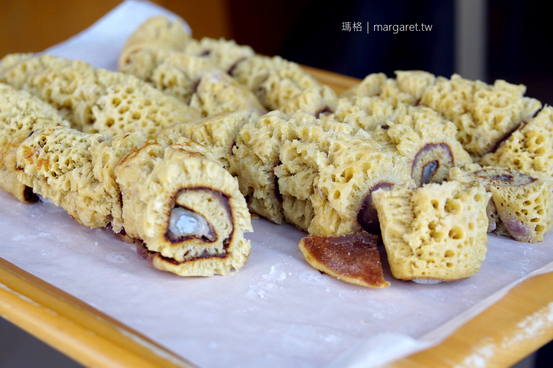 和菓子村上。金澤人氣伴手禮百年老店|跑3次才買到黑糖ふくさ餅。順道吃一支金箔冰淇淋