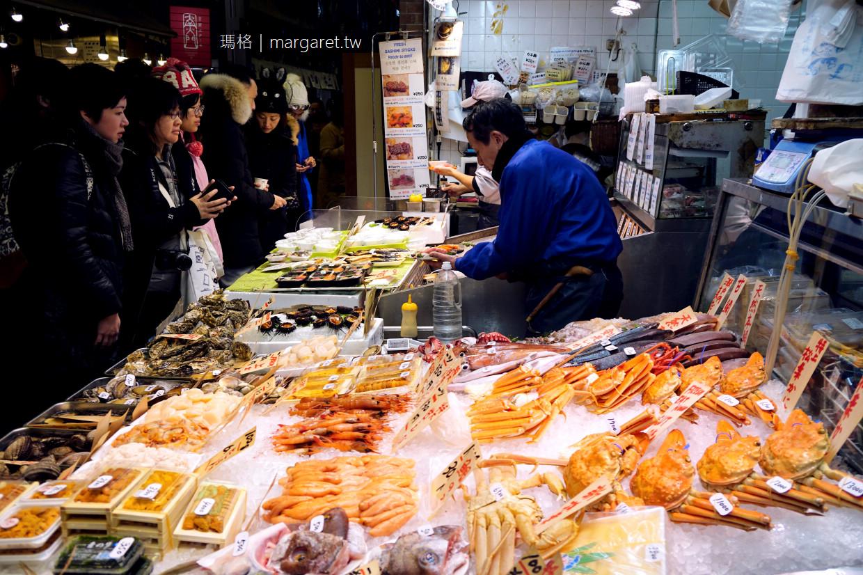 木村鮮魚店。京都錦市場超人氣美食|優質海鮮站著吃 @瑪格。圖寫生活