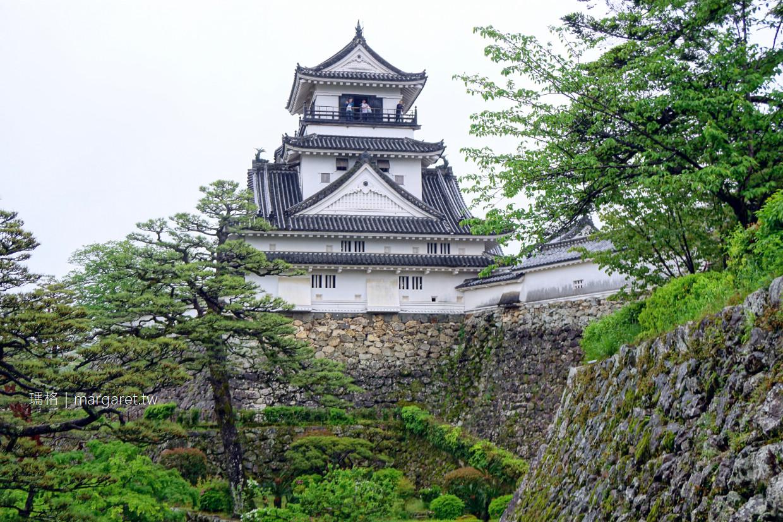 高知城。日本12天守|唯一完整保存本丸御殿的百大名城 @瑪格。圖寫生活