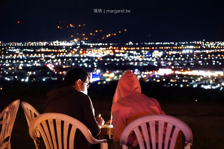 星星部落景觀咖啡。太陽下班後才開始營業|到卑南鄉山腰上看台東夜景 @瑪格。圖寫生活