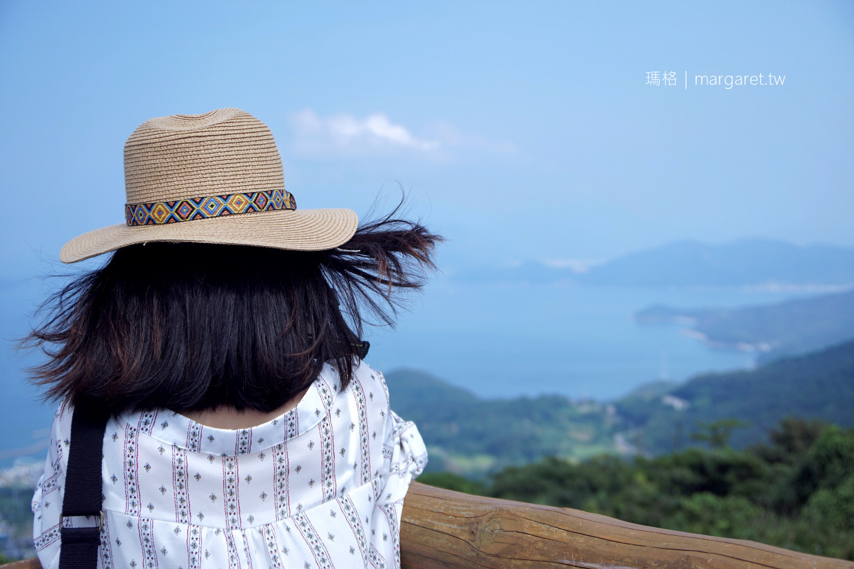 檀山頂上展望台。豐島制高點|森林低語La forêt des murmures @瑪格。圖寫生活