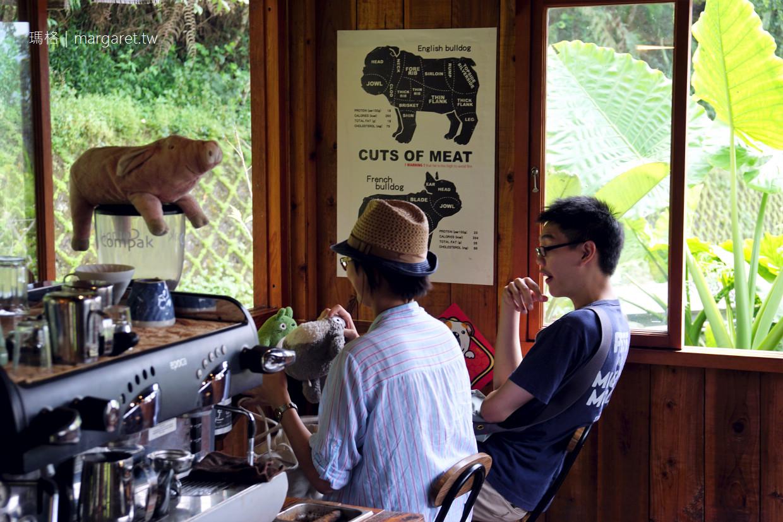 日月潭湖の怪物咖啡。義式手沖都好喝|可愛鬥犬小屋(二訪更新)