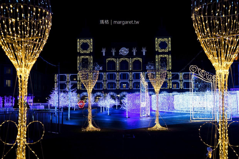 神戶ILLUMINAGE隱藏版3D彩燈秀。巨大光雕迷宮|神戶花果飯店季節限定