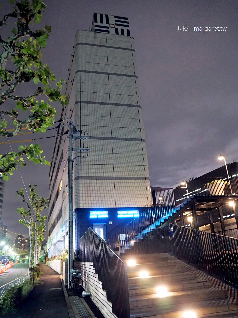 LYURO東京清澄The Share Hotels|隅田川河景設計旅店|藝術、共享露臺、晴空塔、清洲橋、手工精釀啤酒 @瑪格。圖寫生活
