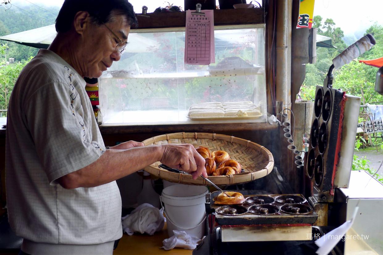 百年檜木甜甜圈。傳說不吃會後悔的奮起湖美食|也可以試試阿良甜甜圈