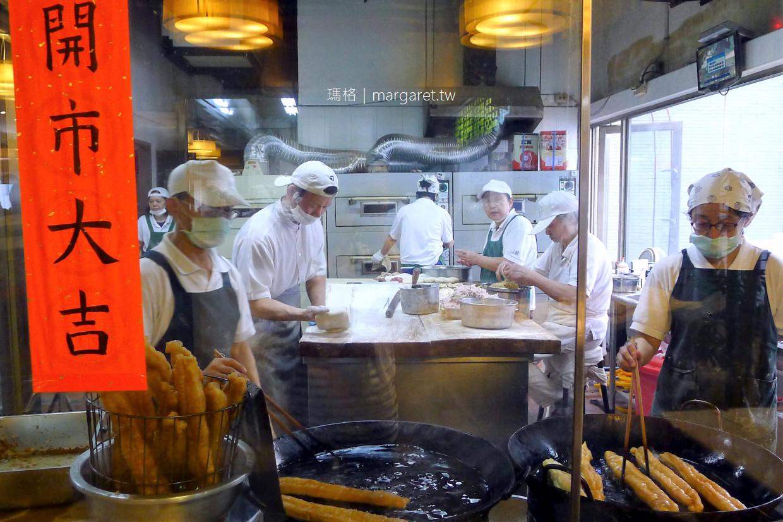 阜杭豆漿招牌厚餅夾蛋。最誇張的排隊美食|2019台北米其林必比登推介