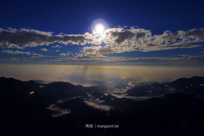 嘉義。隙頂二延平|月落聖光奇景