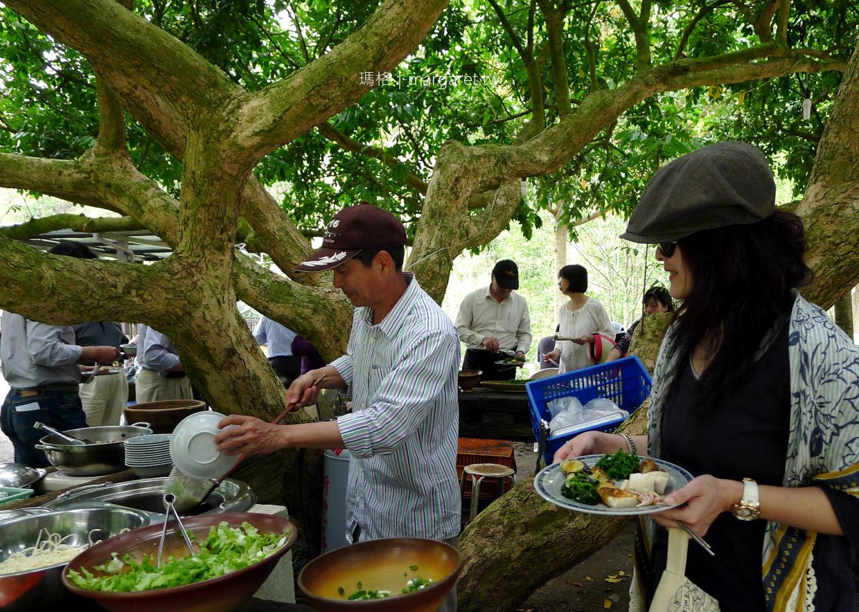 阿成的家。水里百萬龍眼樹下吃到飽|大哥窯烤手工麵包一級棒|觀賞鵲橋最佳庭園風味餐廳