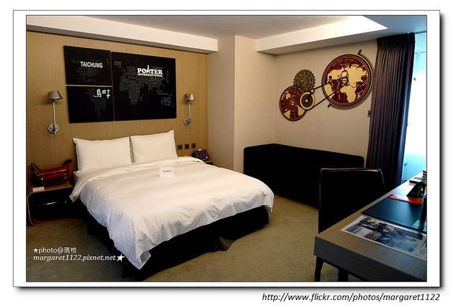 PORTER品牌藝術客房。承億文旅台中鳥日子飯店|旅遊時尚跨界創舉 @瑪格。圖寫生活