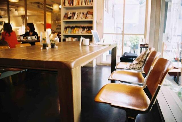 學校咖啡館 Ecole Cafe|我想在這個地方讀書