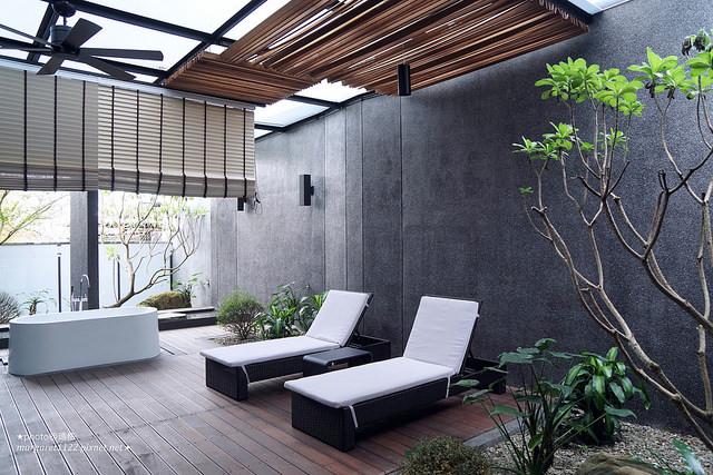 雲林飯店。華山觀止虫二行館|不規則清水模建築與地景交織的自然之詩