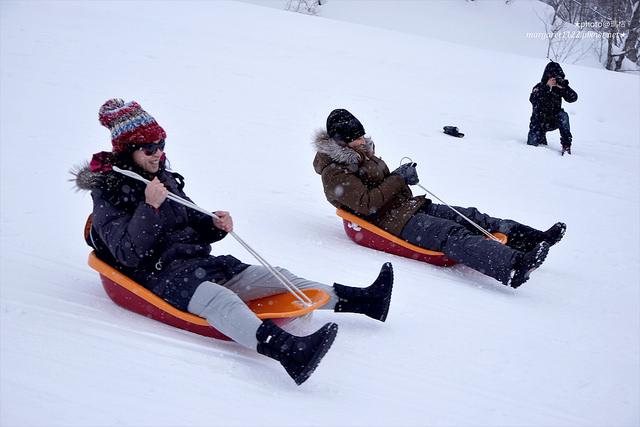 福島只見町。只見滑雪場|超好玩的滑雪盆、打雪仗